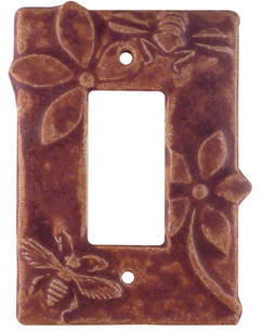 single rocker switch plate, single gfi outlet plate, single decora light switch cover