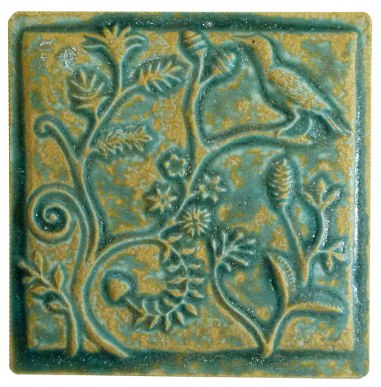 Ceramic Art Tiles 6 inches by 6 inches in a large selection of